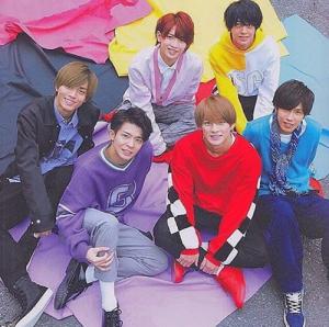 King&Prince(キンプリ)メンバーカラー 深紅漆黒紫・・・2