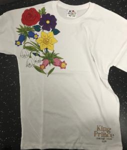 King&Prince(キンプリ)2019コンサートツアーグッズ Tシャツ 前