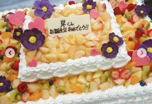 King&Prince(キンプリ)岸優太 誕生日ケーキ 宮城コンサート3