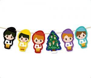 King&Prince(キンプリ)セブンイレブン クリスマス限定グッズ クリスマスガーランド