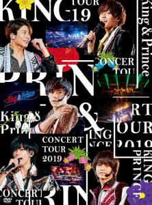 King&Prince(キンプリ) 『CONCERT TOUR 2019』DVD&Blu-ray 初回限定盤