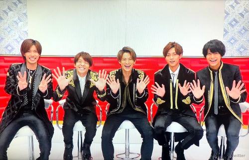 【キンプリ】CDTV「ARTIST FILE」に登場!!『koi-wazurai』披露♪(動画)