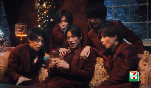 【キンプリ】待ちに待ったセブンイレブン『クリスマスCM』解禁!!