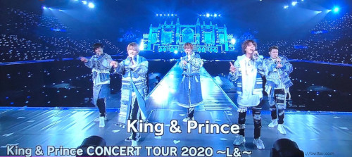 King&Prince(キンプリ)『King & Prince CONCERT TOUR 2020 ~L&~』のDVD&Blu-ray発売