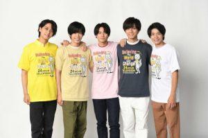 King&Prince(キンプリ) 24時間テレビチャリTシャツ 5色