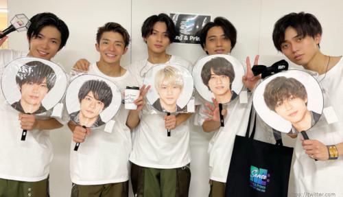 King&Prince(キンプリ) コンサートツアー2021・フェイスシールド着用